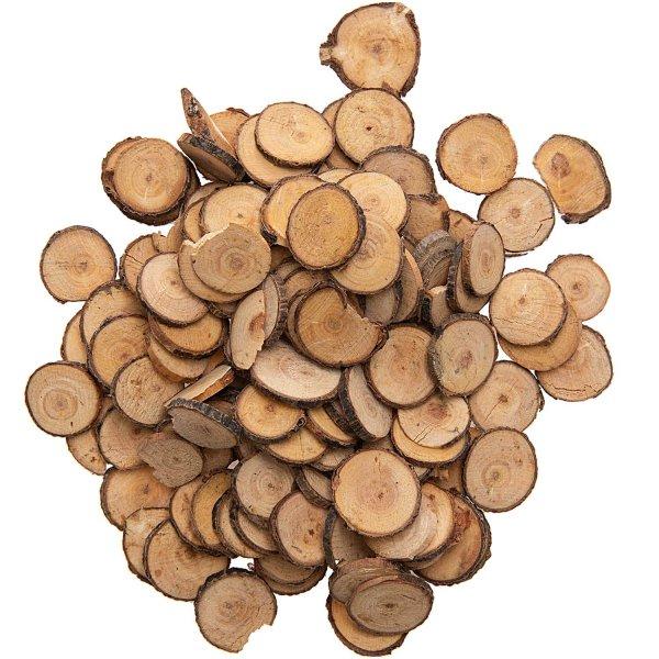 Baumscheiben Mix natur Ø=2-2,5cm 100g