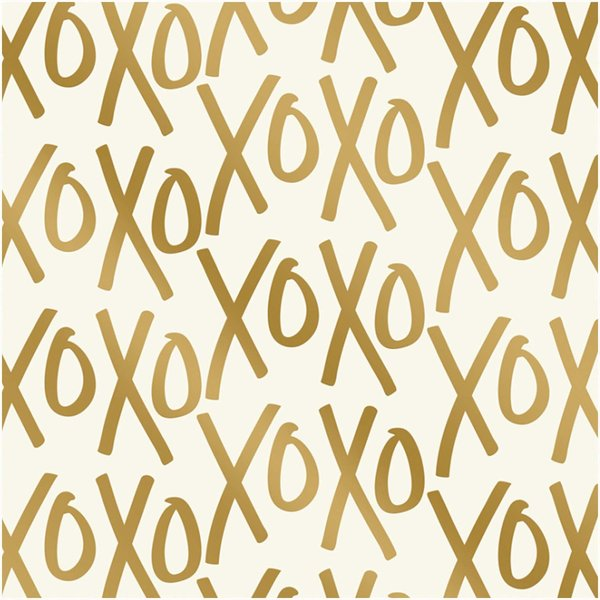 MyMindsEye Scrapbooking Bogen Yes, please Ex's & Oh's 30,5x30,5cm