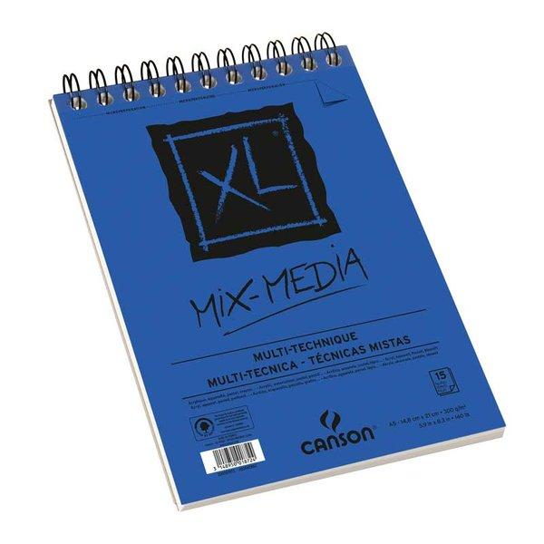 Canson XL Spiralblock Mix Media A3 30 Blatt