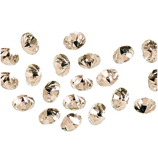 Swarovski® Strass-Steine spitz crystal 1mm 20 Stück