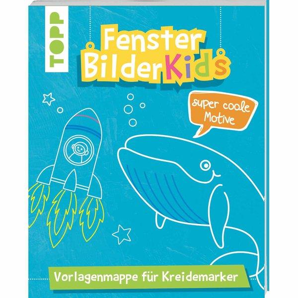 TOPP Fensterbilder Kids - Super Coole Motive