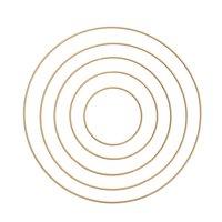 Rico Design Metallring gold