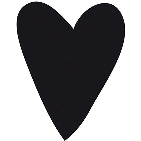 Rico Design Stempel Herz länglich rund 3,5cm