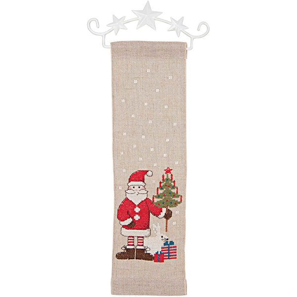 Rico Design Stickpackung Behang Nikolaus 10x32cm