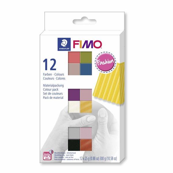 Staedtler FIMO Soft Fashion 12 Halbblöcke je 25g