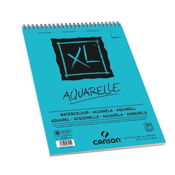 Canson XL Spiralblock Aquarelle A3 30 Blatt