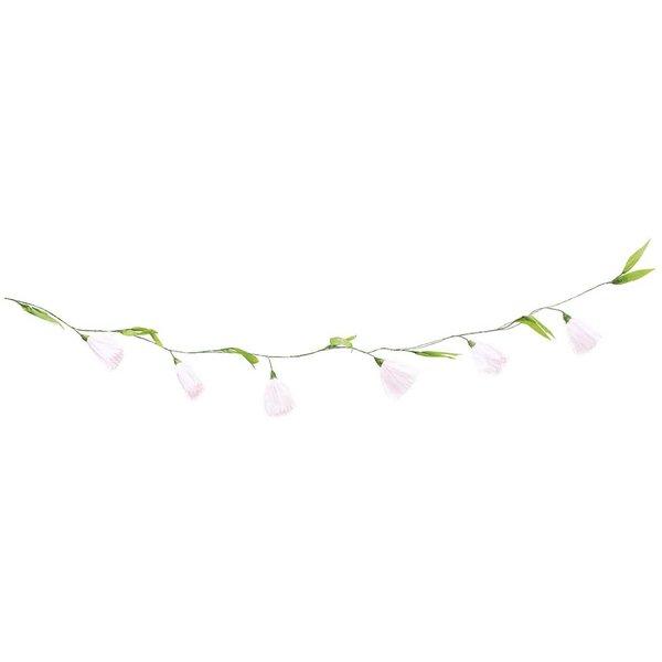 Ohhh! Lovely! Papierblumen Girlande rosa 180 cm