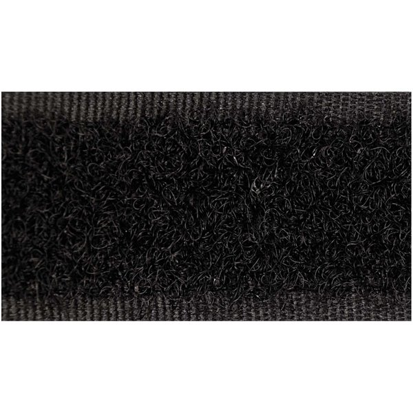 Rico Design Klettband selbstklebend schwarz 50cm