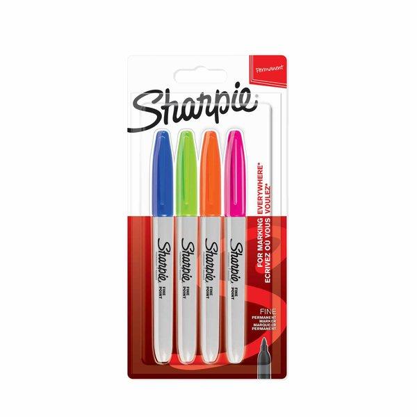 Sharpie Permanentmarker fein Fun Farben 4 Stück