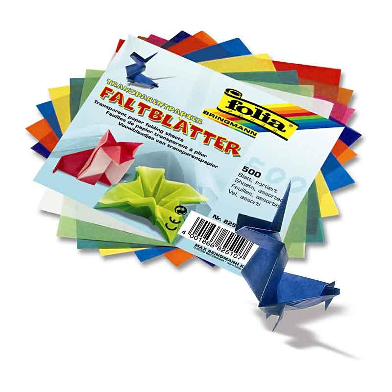 Ideen mit Herz Transparentpapier100 BlattquadratischPremium-Qualität