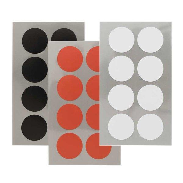 Rico Design Office Sticker Punkte 25mm 4 Bogen