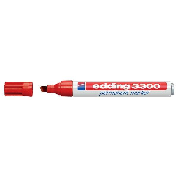edding 3300 Permanentmarker rot 1,5-5mm