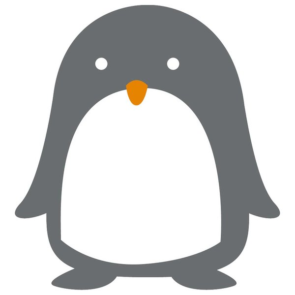 Rico Design Appliqué Pinguin 7,8x8,9cm