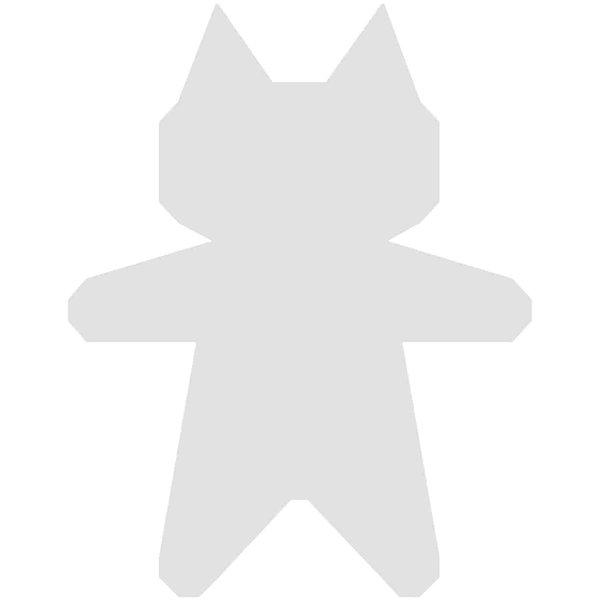 Rico Design Cardboard Katzen 8,2x10,5cm 3 Stück