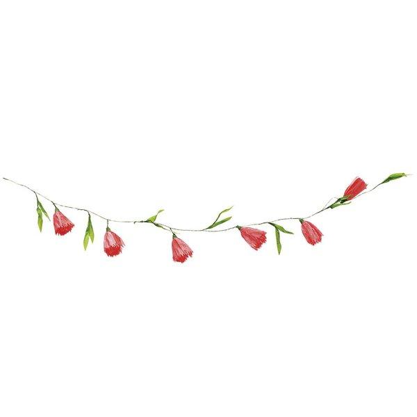 Ohhh! Lovely! Papierblumen Girlande rot 180 cm