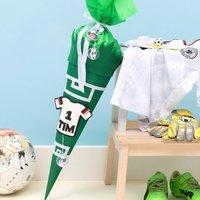 Anleitung Fußball-Schultüte