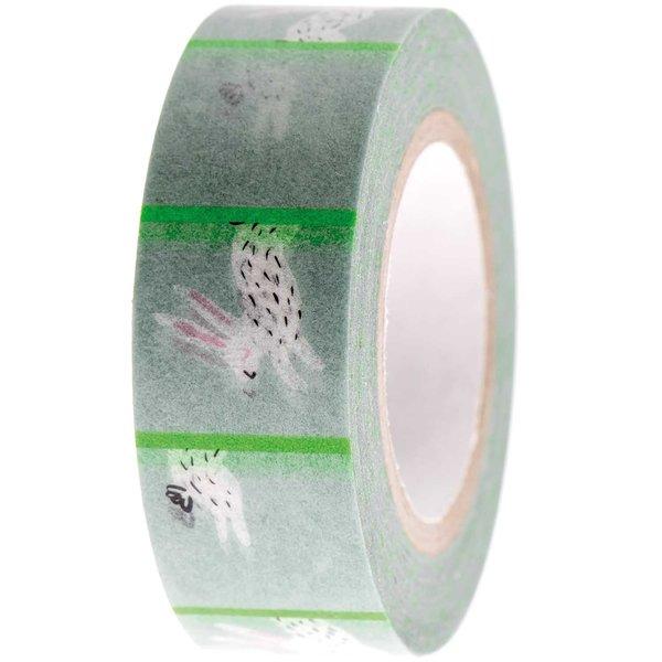 Paper Poetry Tape Bunny Hop mint 1,5cm 10m