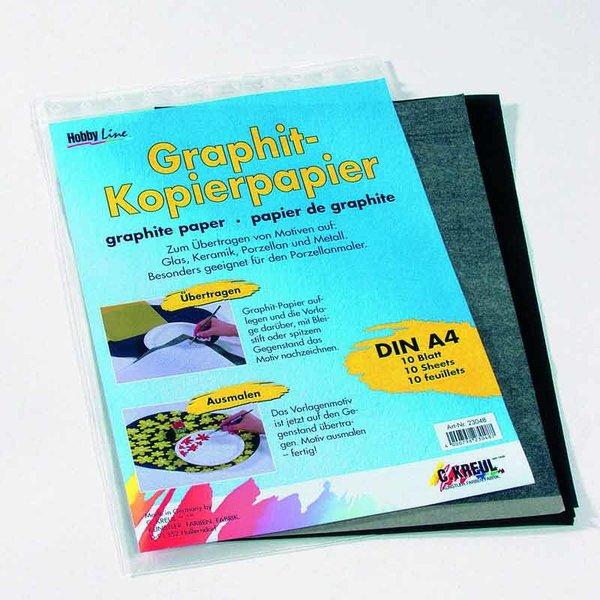 KREUL Hobby Line Graphit-Kopierpapier A4 10Blatt