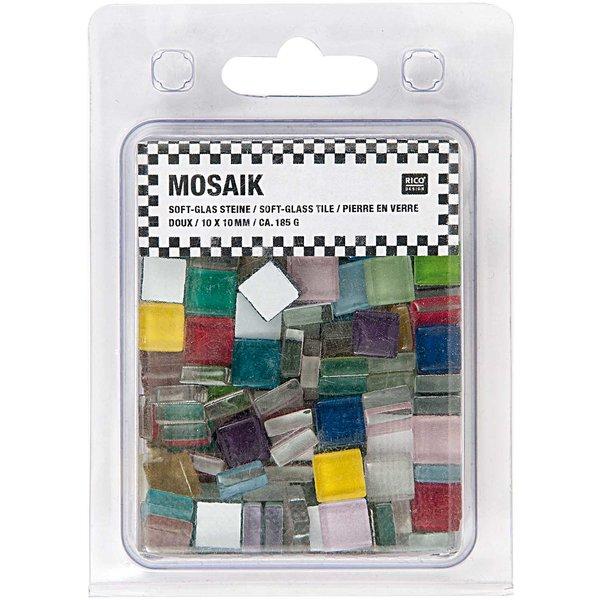 Rico Design Soft-Glas Mosaiksteine Mix 185g