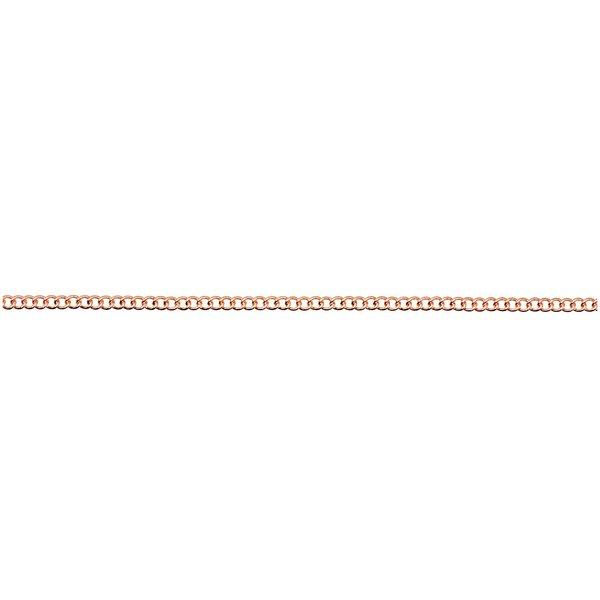 Jewellery Made by Me Gliederkette fein roségold 2,3mm 1m