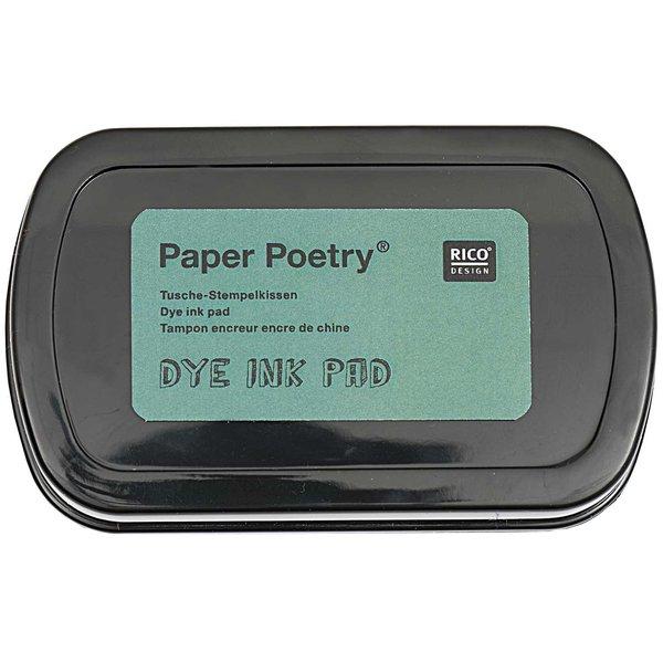 Paper Poetry Tusche Stempelkissen grün 7,3x4,5cm