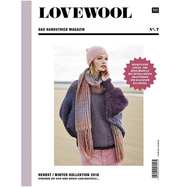 Rico Design Lovewool Nr. 7 Handstrickmagazin Herbst-Winter 2018