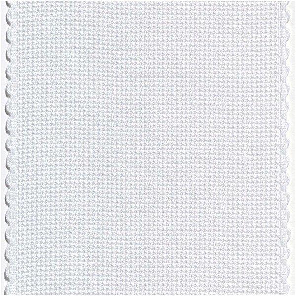 Rico Design AIDA-Band gebleicht-weiß 10cm