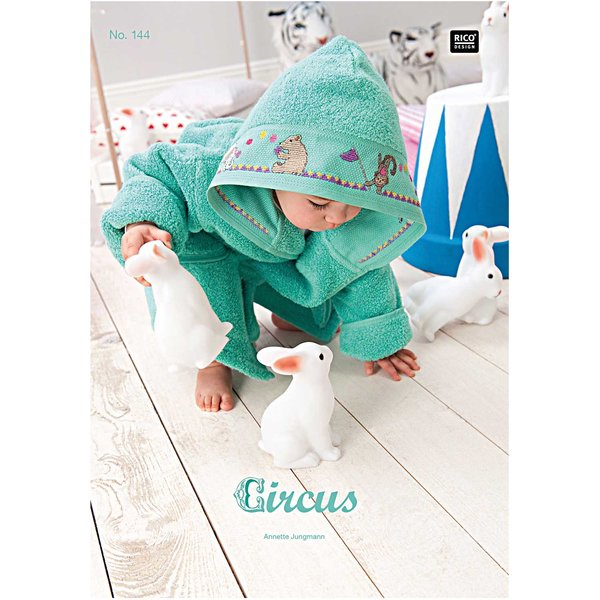 Rico Design Stickbuch Circus Nr.144