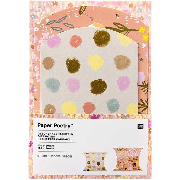 Paper Poetry Geschenkschachteln Crafted Nature Punkte 6 Stück