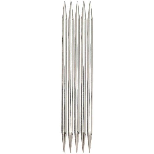 KnitPro Nadelspiel 10mm 20cm Stahl
