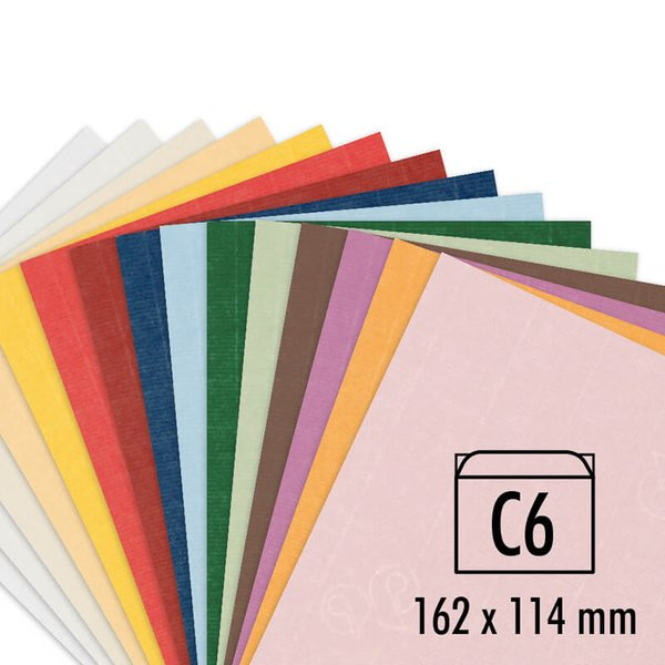Artoz Kuvert Serie 1001 C6 100g/m² 5 Stück