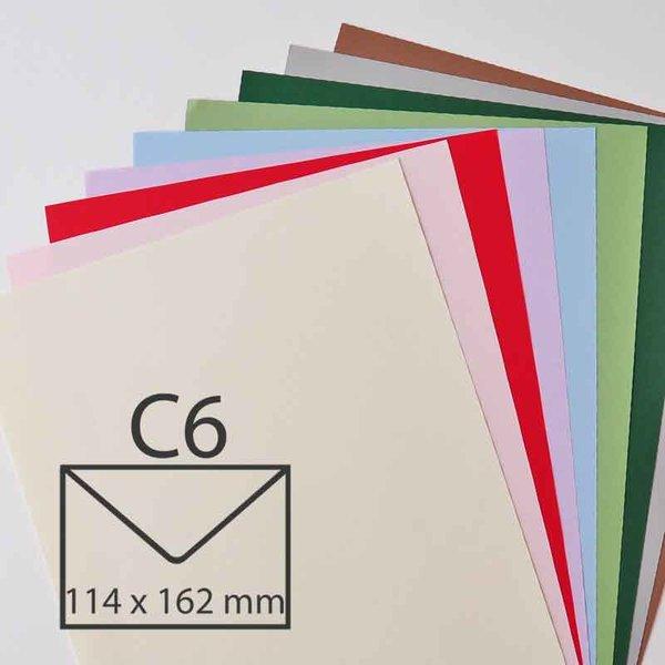 Rico Design Kuvert Essentials C6 5 Stück