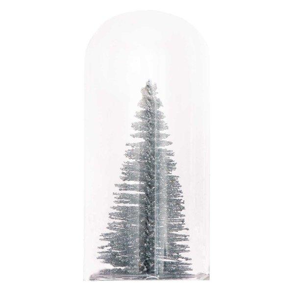 Ohhh! Lovely! Glashaube Tannenbaum silber 5x10cm