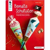 TOPP Bemalte Schultüten - Die Vorlagenmappe
