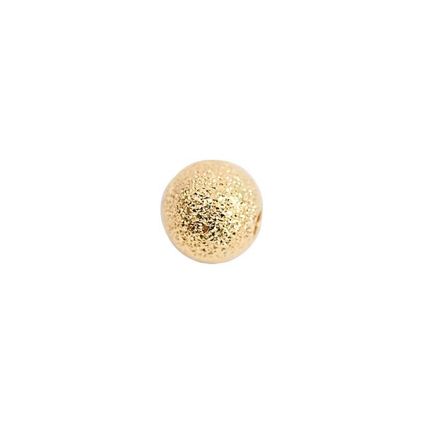 Rico Design Kugel rau gold 6mm 15 Stück