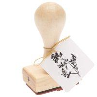 Paper Poetry Stempel Glockenblume 3x5x8cm