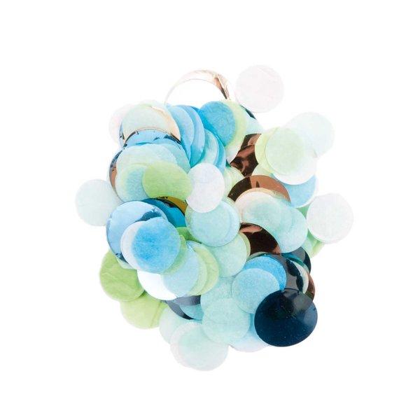 YEY! Let's Party Konfetti blau-grün Mix 20g