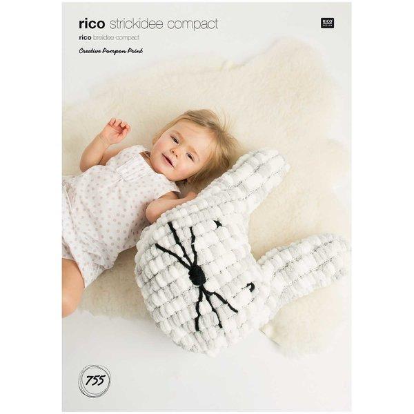 Rico Design Strickidee compact Nr.755 Pompon Print
