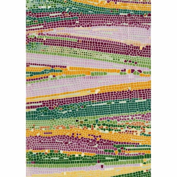 décopatch Papier Mosaik natur 3 Bogen