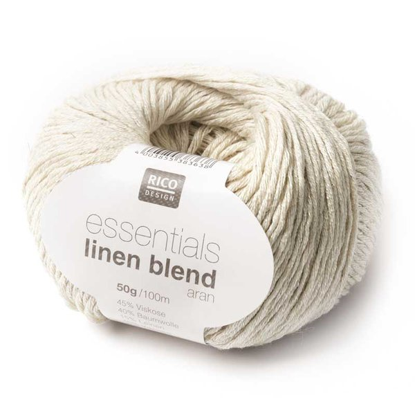 Rico Design Essentials Linen Blend aran 50g 100m