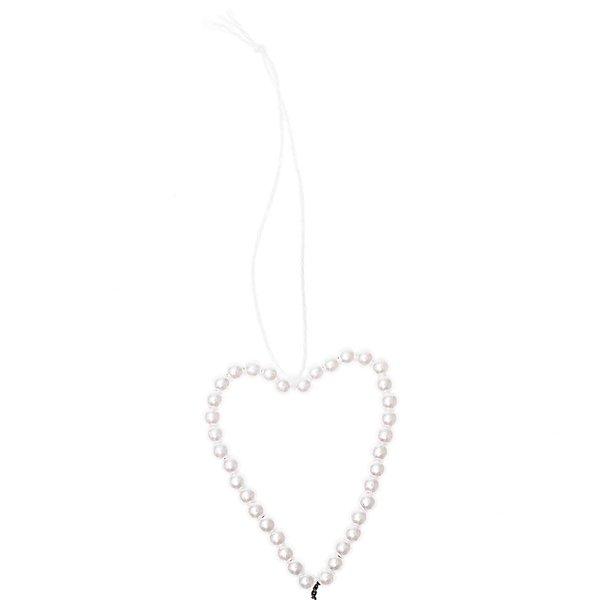 Ohhh! Lovely! Perlenhänger Herz M perlmutt 1,5x3,7x12cm