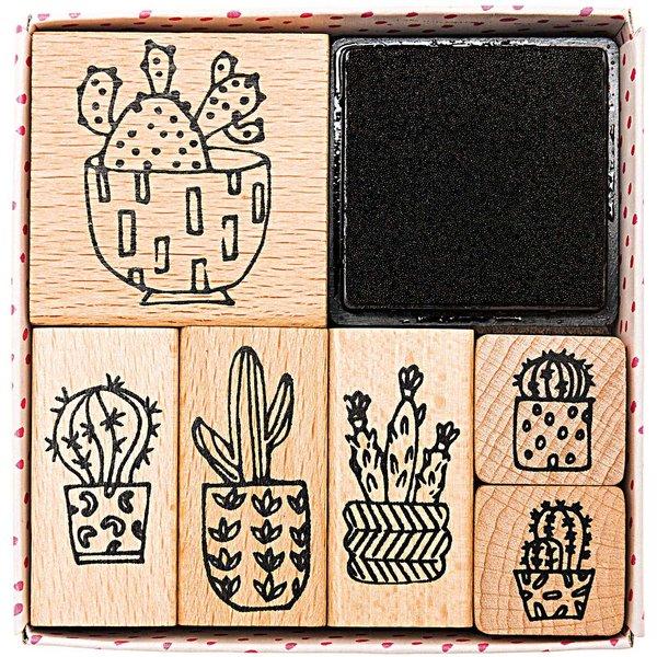 Paper Poetry Stempelset Hygge Cactus 7teilig