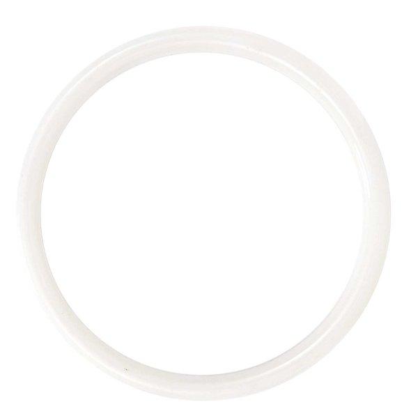 Rico Design Taschengriffe rund weiß 15cm 2 Stück