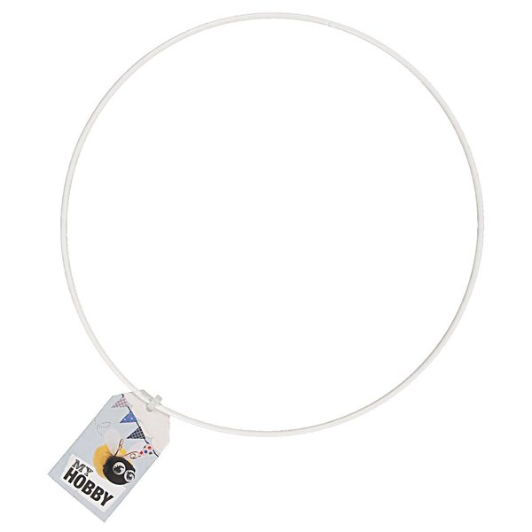 Rico Design Metallring weiß 25cm