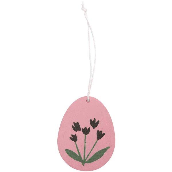 Ohhh! Lovely! Holzhänger Osterei Blume 1 Stück