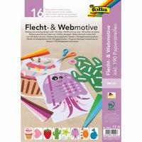 folia Flecht- und Webmotive DIN A4 206teilig