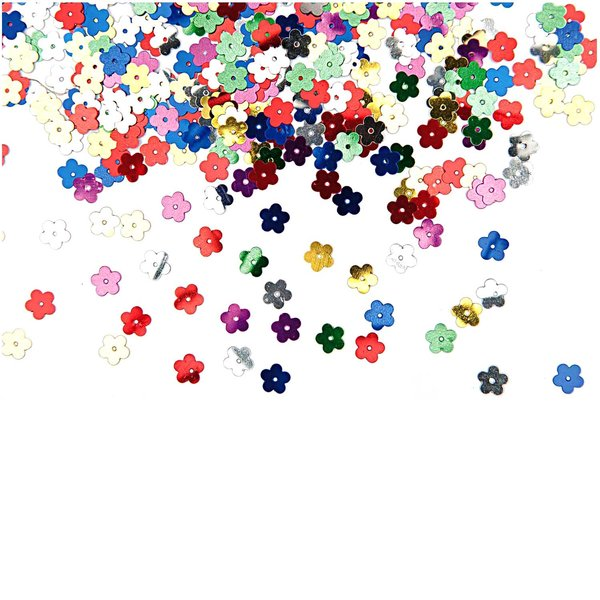 Rico Design Flitter Streu Blüte mehrfarbig 10g
