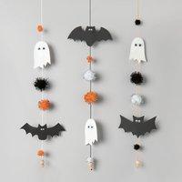 Anleitung Halloween Girlande basteln