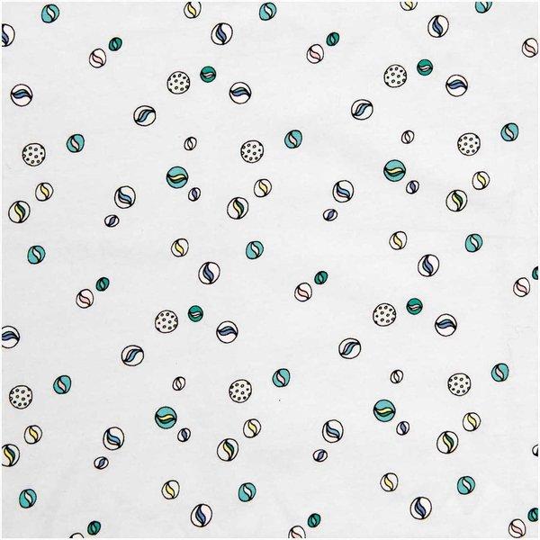 Rico Design Stoff Jersey Murmeln grau 70x100cm