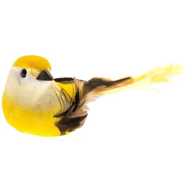 Vogel gelb 8,5cm